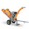 professional wood chippers with internal combustion engine branch shredders and tracked wood chipper