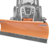 snow blades with plate attachment and hydraulic lift tractor blades deleks